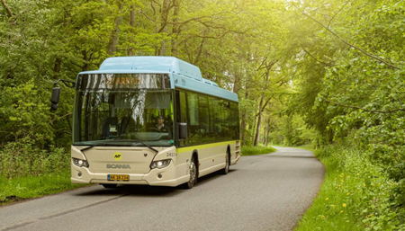 Gasbus fra Nature Energy